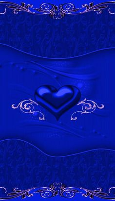 Heart Iphone Wallpaper, Iphone Wallpapers, Wallpaper Backgrounds, America's Got Talent, Pretty Wallpapers, Diamond Heart, Shades Of Blue, Colorful Backgrounds, Valentines