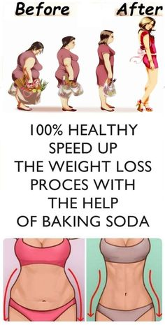 SPEED UP THE WEIGHT LOSS PROCES WITH THE HELP OF BAKING SODA -