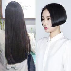 Long Hair Cut Short, Short Hair Styles, Bob Hairstyles, Haircuts, Hair Models, Beautiful Long Hair, Bobs, Hair Beauty, Hair Color