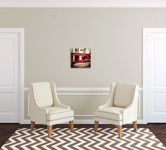 Etsy artist Tracey Capone uses the chair template to show her art canvas to potential clients. Get the chair template here: http://www.arianafalerni.com/design/products/chair/