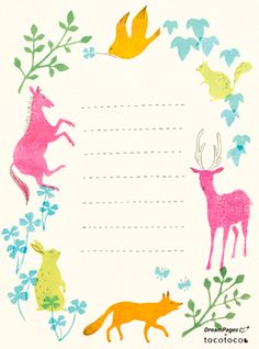 Such cute stationary http://www.tocotoco-mag.com/template/barticle/article_255.html