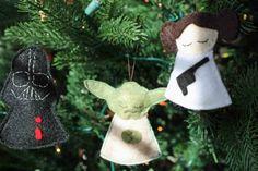 Star Wars felt ornaments 3