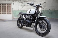 Triumph Scrambler by Mod Moto