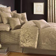 Candice Olson Sweet Dreams Gold Comforter Set Queen set $179.99 King set $199.99