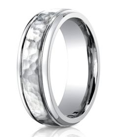 Titanium Ridged Edge Black Enamel Braid Design 6mm Wedding Ring Band Size 6.50 Harmonious Colors Engagement & Wedding