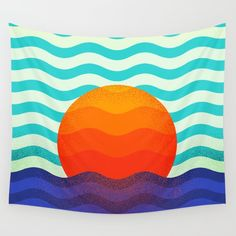 Buy #019 OWLY swimming at the sunrise Wall Tapestry by owlychic. Worldwide shipping available at Society6.com. Just one of millions of high quality products available. #frame #building #canvas #canvasprint #walldecor #prints #artwork #print #canvas #poster #print #wallappers #background #owlychic #tapestry