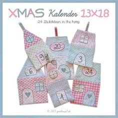 WeihnachtsKalender ★ ITH ★ 13x18 - ginihouse3