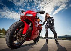 Ducati 996 & Girl