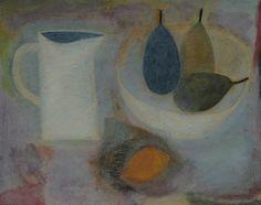 Jug, Three Pears and Lemon by Vivienne Williams