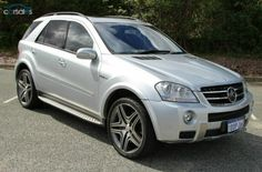 2009 Mercedes-Benz ML63 W164 AMG MY09 Sports Automatic