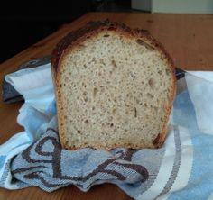 Moje Wypieki   Najprostszy chleb pszenny (na zakwasie)