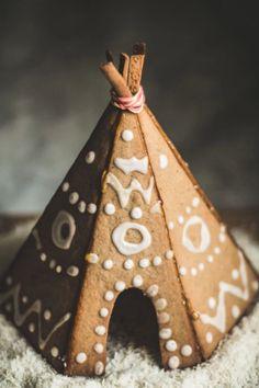 Gingerbread Tipi - GoodHousekeeping.com