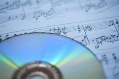 cd and classical music background - free stock photo from www.freeimages.co.uk
