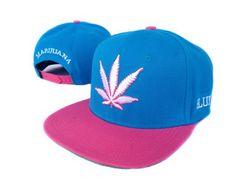 DGK Super Chronic Blue Pink Snapbacks6 Wholesale High-Top