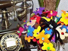 DIY-Idee aus Pfeifenreiniger – Blumen