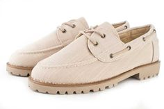 Beige Topsiders by Sole Service PH <3