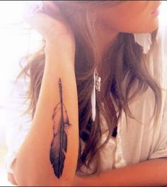 Eagle Feather Tattoo For Passionate Men