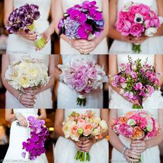 gorgeous #Wedding #Bouquets on the blog today! great #inspiration !