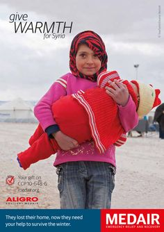 Learn more about how you can help Syrian refugees prepare for the winter at: http://experience.medair.org/ #givewarmth4syria