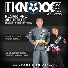 "#Repost  The Limited Edition KNOXX ""Kusari PRO"" Jiu Jitsu Gi  is available at exclusively www.Knoxxgear.com @knoxxgear and KNOXX Gym @knoxxgym. They will available in adult and youth sizing in white blue black and the special edition grey...KNOXX Athletes: Jason and Ashley Chih @iamjasonchih -------- Some sizes and colorways may already be sold out.  #brazilianjiujitsu #gi #gis #kimono #kimono #jiujitsukimono #jiujitsukimonos #knoxxapparel #knoxxclothing #jiujitsuathlete #jiujitsuathletes…"