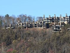 Laurel Point Resort on Sky Mountain Rd as seen from