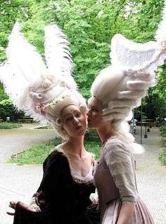 Baroque & Rococo Hair Styles Theater Akademie By Anika Rohrbeck ...