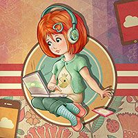 Connected! Connected! - Digital Stamp by The Paper Shelter. Digital stamps, Digital Papers,Scrapbooking, Paper Crafts, Cardmaking
