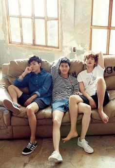 EXO's Suho, Baekhyun & Chen for Magazine August Photographed by Lee Soo Jin v Chanyeol Baekhyun, Exo Chen, Btob, K Pop, Kim Jong Dae, Star Magazine, Soo Jin, Exo Ot12, Chanbaek