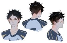 """what if akaashi blushes everywhere /except/ for on his cheeks so people don't usually realise he's blushing at all"""