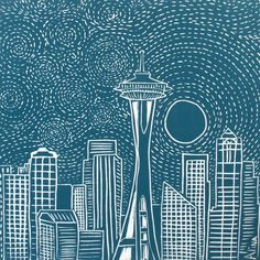 Seattle art-- My soon-to-be home!