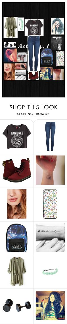 """Untitled #889"" by werewolflover90 on Polyvore featuring Paige Denim, Dr. Martens, Zoya and Disney"