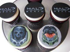 HALO REACH CUPCAKES