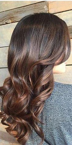 mahogany brunette hair color