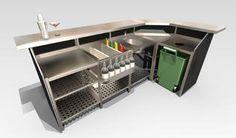 Portabar®, Portable Bars, Mobile Bar, Outdoor Event Events, Cantilever