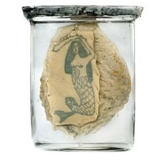 Tattoo preserved after death.