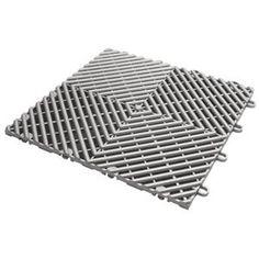 Gladiator GAFT04DTPS Silver Drain Floor Tile (4 Pack) Price: $22.95