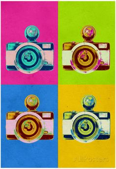 poster camera fotografica - Pesquisa Google