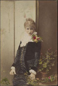 Sarah Bernhardt - 19th Century WD Downey Photographers (photographed).