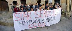 Concentración en protesta por el despido de dos trabajadoras de Star Services   farodevigo.es