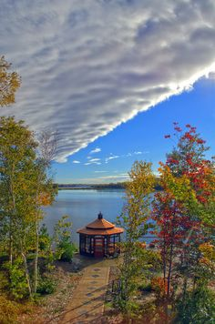 """""""Clouding Over"""" by Dean Martin. Sudbury Canada, Greater Sudbury, Earth Weather, Places To Travel, Places To Go, Manitoulin Island, Toronto Ontario Canada, Dean Martin, Ottawa"""