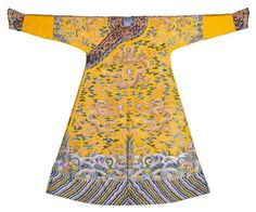 Emperor's yellow dragon robe, 1736-1795. On loan from the Palace Museum, Beijing © The Palace Museum, Beijing