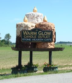 Warm Glow Candle Company Store. Centerville Indiana | Warm ...