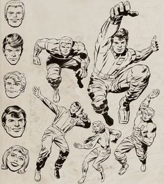 Cap'n's Comics: Challengers of the Unknown by Jack Kirby