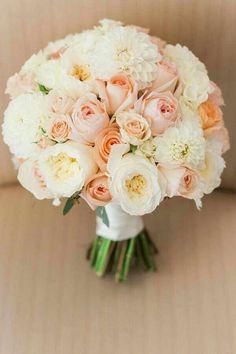Bouquet rosa pesca - 15