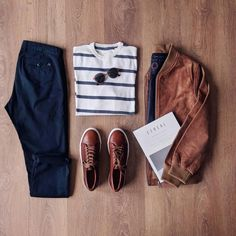 Gentleman Mode, Gentleman Style, Mode Outfits, Casual Outfits, Casual Shoes, Stylish Men, Men Casual, Stylish Clothes, Fashion Clothes