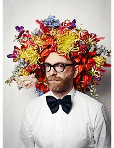 Thierry Boutemy. Artist, florist, craftsman