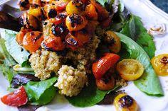 Heirloom Tomatoes & Quinoa Salad