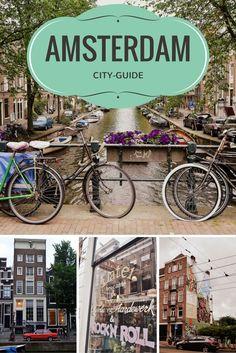 City-Guide Amsterdam : bonnes adresses où manger, shopping, le quartier rouge, le quartier du Joordan, le quartier De Pijp,…
