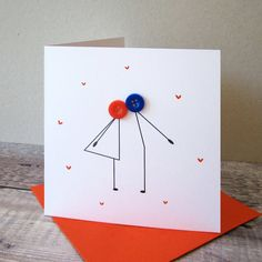Are you interested in our Button couple kissing anniversary card? With our Romantic Valentines Day c Cricut Anniversary Card, Happy Anniversary Cards, Diy Wedding Anniversary Cards, Handmade Anniversary Cards, Anniversary Cards For Couple, Anniversary Funny, Anniversary Quotes, Handmade Birthday Cards, Greeting Cards Handmade