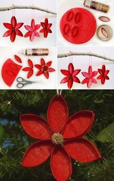 With these 13 grandiose ideas, you become a collector of toilet paper rolls. 5 i … - Diy and Crafts Mix Cardboard Box Crafts, Paper Roll Crafts, Christmas Ornament Crafts, Christmas Crafts, Christmas Decorations, Handmade Birthday Gifts, Handmade Christmas Gifts, Handmade Gifts, Decoration Inspiration